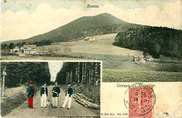 Cpa COL DU DONON 67 - DONON - Grenze - Frontière - Autres Communes