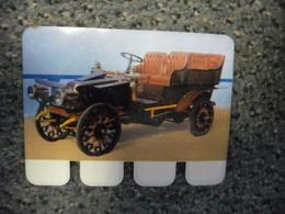 N° 62 - PLAQUE METAL En TOLE CORRE De 1904 - AUTOMOBILE COOP Des Années 60 - Tin Signs (after1960)