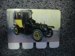 N° 61 - PLAQUE METAL En TOLE BRAZIER De 10 CV De 1908 - AUTOMOBILE COOP Des Années 60 - Advertising (Porcelain) Signs