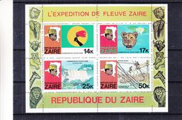 Mobutu - Chutes D'eaux - Félins - Torche - Zaïre - COB BF 30B ** - MNH - Zaïre