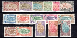 Côte Des Somalis Maury N° 67/82 Neufs *. B/TB. A Saisir! - Französich-Somaliküste (1894-1967)