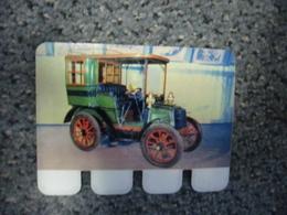 N° 60 - PLAQUE METAL En TOLE PANHARD ET LEVASSOR De 1898 - AUTOMOBILE COOP Des Années 60 - Tin Signs (after1960)