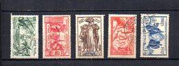 Africa Ecuatorial Francesa   1937  .-  Y&T  Nº    28/32 - Usados