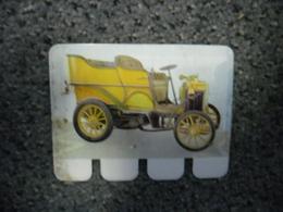 N° 42 - PLAQUE METAL En TOLE BARDON De 1902 - AUTOMOBILE COOP Des Années 60 - Plaques Publicitaires