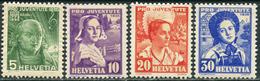 "Switzerland 1936. Michel #306/09 VF/MVLH. ""Pro Juventute"" - IV. (B28) - Svizzera"