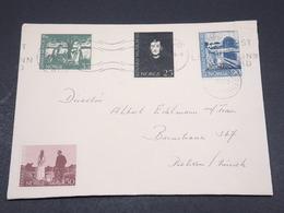 NORVÈGE - Enveloppe De Oslo En 1963, Affranchissement Plaisant - L 17335 - Brieven En Documenten