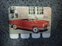 N° 30 - PLAQUE METAL En TOLE NSU Prinz De 50 CV De 1964 - AUTOMOBILE COOP Des Années 60 - Plaques Publicitaires