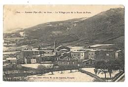 66 SOURNIA EN HIVER 1914 CPA 2 SCANS - France