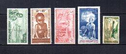 Africa Ecuatorial Francesa   1940-42  .-  Y&T  Nº    10/12-13-15     Aéreos - Usados