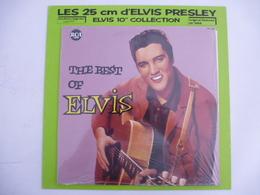 ELVIS PRESLEY : REEDITON  Vinyle 25 CM - THE BEST OF... 1958 -  RCA 130. 250 (Avec Le Carton De Protection) - Collectors