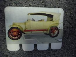 N° 24 - PLAQUE METAL En TOLE LEON BOLLEE 4 Cylindres De 1912 - AUTOMOBILE COOP Des Années 60 - Plaques Publicitaires
