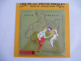 ELVIS PRESLEY : REEDITON  Vinyle 25 CM - CHILI 1957 -  RC 240 (Avec Le Carton De Protection) - Collector's Editions