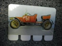 N° 22 - PLAQUE METAL En TOLE UNIC 4 Cylindres De 1912 - AUTOMOBILE COOP Des Années 60 - Plaques En Tôle (après 1960)
