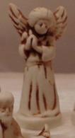 Fève Rare - Ange Crèche - Les Rois Mages En Galilée - Bistre Brun - 1999 - Santons