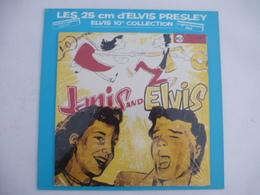 ELVIS PRESLEY : REEDITON  Vinyle 25 CM - JANIS And ELVIS 1958 -  RCA 130 253 (Avec Le Carton De Protection) - Collectors