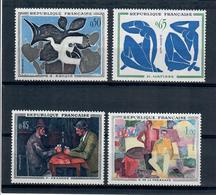 FRANCIA 1961 -  QUADRI - OPERE D'ARTE - SERIE COMPLETA - MNH** - Unused Stamps