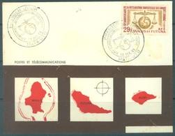 WALLIS FUTUNA - 10.12.1963 - FDC - Yv 169 - Lot 16801 - Wallis-Et-Futuna