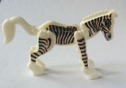 K93n4 Animaux Plats Zèbre - Gelenktiere Zebra - Montables