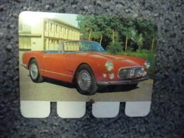 N° 5 - PLAQUE METAL En TOLE - MASERATI 3.500 De 220 CV - AUTOMOBILE COOP Des Années 60 - Plaques Publicitaires