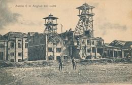 62) Carte Allemande - Puit De Mine D'ANGRES - Zeche 6 In Angres Bei Lens (1916) - 1.WK - WW1 - Lens