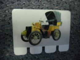 N° 4 - PLAQUE METAL En TOLE - PANHARD Type B1 à 4 Cylindres De 1899 Moteur Daimler - AUTOMOBILE COOP Des Années 60 - Plaques Publicitaires