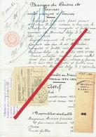 Lessines. Brasserie Du Canton De Lessines. Constituée En 1897 ! Bilan Arrêté Au 31 Août 1925. Très Rare. **** - Autres Collections