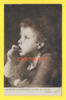 CPA MUSEE LUXEMBOURG - La Petite Fille Aux Cerises - Artiste BOULARD - Peintures & Tableaux