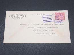 PANAMA - Enveloppe De Panama Pour New York En 1937 , Affranchissement Plaisant - L 17342 - Panama
