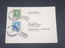 PHILIPPINES - Enveloppe De Manille Pour La Suisse En 1937 , Affranchissement Plaisant - L 17343 - Philippines