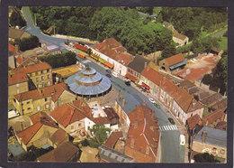 10  ERVY Le CHÂTEL    Vue Aérienne, L'ancienne Halle Aux Grains  1980 - Ervy-le-Chatel