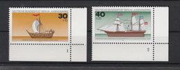 Deutschland Berlin West **  544-547 Jugend Schiffe Eckrand Formnummer Katalog  7,60 - Berlin (West)