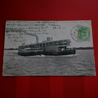 THE I.F.CO S STEAMER NAGAMA TAXE VERSO - Myanmar (Burma)