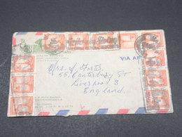 PHILIPPINES - Enveloppe Commerciale Pour La Grande Bretagne , Affranchissement Plaisant - L 17347 - Philippines