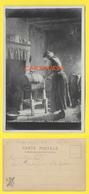 CPA SALON 1902 - COIN DE FERME - Artiste J BOQUET - Peintures & Tableaux