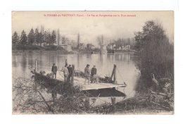 Saint Pierre Du Vauvray. Eure. Le Bac Et Perspective Sur Le Pont écroulé. (2887) - France
