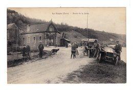 La Roule. Eure. Bords De Seine. Avec Automobiles Années 1925.Façade Garage. (2888) - Autres Communes
