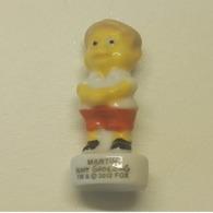 Fève Martin - Les Simpson à L'école - 2012 - Cartoons