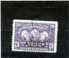 B - 1936 Ecuador - Ulloa, La Condamine E Juan - P.A. - Ecuador