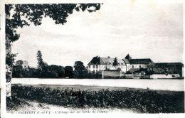 N°62282 -cpa Paimpont -l'abbaye Sur Les Bords De L'étang- - Paimpont