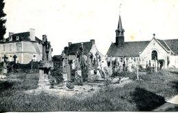 N°62286 -cpa Saint Erblon -l'église Et Le Presbytère- - Otros Municipios