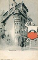 SWITZERLAND - Lausanne With Crest - Unused Undivided Rear - LU Lucerne