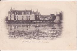CPA - Chambellay - Château Du Bois-montboucher - France