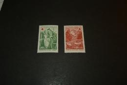 FR227- Set MNH  France - 1970-  SC.B443-444  - Croix Rouge - Red Cross - Croix-Rouge