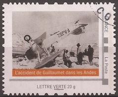 """FRANCE 2012 Collector """" L ' Aventure De L' Aéropostale """" :  L' Accident De Guillaumet Dans Les Andes - France"""