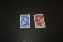 FR254-set  MNH  France -  1971-  SC. B425-426 - Croix Rouge -red Cross - Croix-Rouge