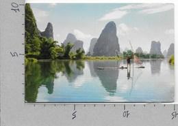 CARTOLINA NV CINA - BEAUTIFUL KWEILIN - Green Pinnacles By The River - 10 X 15 - Cina