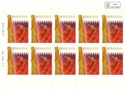 Timbres Maroc Planche De10. N° 1638 De 2012, Faune, Oiseaux : Le Faucon - Maroc (1956-...)