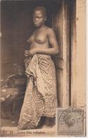 JEUNE FILLE INDIGENE - SEINS NUS - Elisabethville 1926 - Congo Belge - Autres