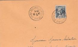 Paris 1934 - Salon De L'aéronautique - Avion Airplane Flugzeug - Poststempel (Briefe)