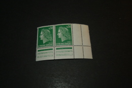 FR374- Timbres Avec Vignette   MNH  France  -   1969 - Marianne By  Cheffer  -30c Green - 1967-70 Marianna Di Cheffer